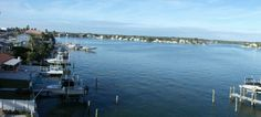 View from a Condo Balcony of Boca Ceiga Bay