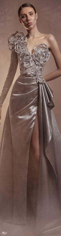 Fashion 2020, Fashion Show, Fashion Design, Formal Wear, Formal Dresses, Haute Couture Fashion, Zuhair Murad, Catwalk, Ball Gowns
