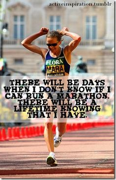 #Fitspiration for anyone training for a #marathon!