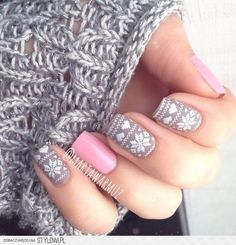Perfect winter nails <3: flawless