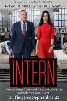 The Intern (Oct 2015) - What a mess! This movie is awful - preachy, condescending, It tries to do too much at once and ends up doing none of it well, it has mixed messages, no direction, it's too long and it goes nowhere - 1.5 stars