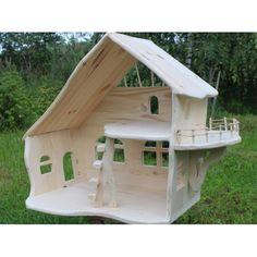 Кукольные домик из дерева артикул 1
