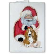 Znalezione obrazy dla zapytania german shepherd christmas cards