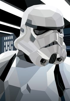 Art-Poster Wall Editions : Star Wars - Storm Trooper Tribute, by Liam Brazier. Format : 50 x 70 cm. Star Wars Fan Art, Star Trek, Images Star Wars, Star Wars Pictures, Posters Geek, Decoracion Star Wars, Tableau Star Wars, Cuadros Star Wars, Super Troopers