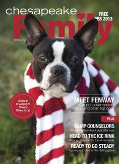 February 2013 Pet Cover Photo Contest winner on cover