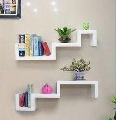 prateleira de parede para livros - Pesquisa Google