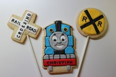 Sugar Mama Cookies: New Thomas the Train Cookies
