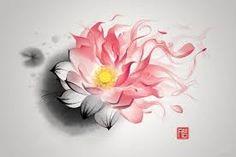 lotus watercolor tattoo small - Google Search