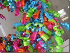 Embellished Bayou: DIY Curly Ribbon Wreath