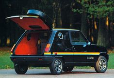 automotocollection: Renault 5 Le Car Van - 1980