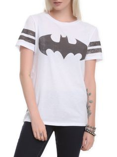 DC Comics Batman Stripe Girls T-Shirt