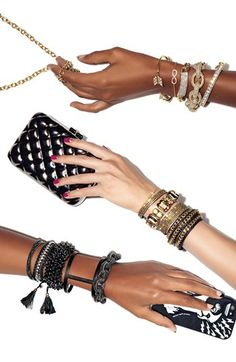 Trend to try: stackable bracelets