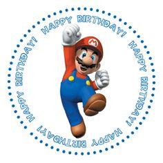 Super Mario Bros Free Printables   love Photoshop!