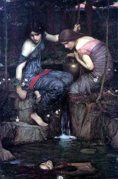 Nymphs Finding the Head of Orpheus    John Waterhouse 1900