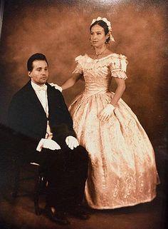 1860's Ballgown ...