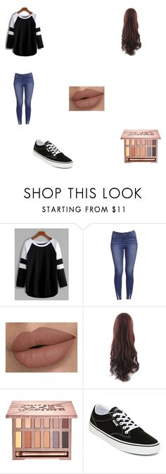 """Untitled #241"" by fallinginreverserocks on Polyvore featuring Urban Decay and Vans"