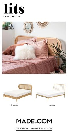Choice of materials, finishes, with or without storage, find our exclusive creations of design beds. Living Room Grey, Small Living Rooms, Living Room Decor, White Wooden Single Bed, Diy Room Decor, Bedroom Decor, Home Decor, Dressing Room Design, Decoration Inspiration