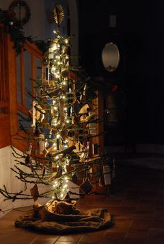 Peachy 221 Best Its A Vintage Christmas Tree Images On Pinterest Easy Diy Christmas Decorations Tissureus