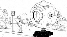 Animierte Gedankenexperimente    Kunde: SRF Sternstunde Philosophie  Animation: Nino Christen  Sounddesign: Martin Bezzola Animation, Christening, Philosophy, Motion Design, Cartoons