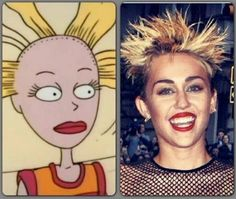 HA.... wow.. and Cynthia looks better!