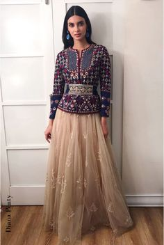 Actress Diana Penty in a Tulle look by designer Anita Dongre Indian Wedding Outfits, Indian Outfits, Diana Penty, Color Combinations For Clothes, Look Short, Lehenga Skirt, Lehenga Collection, Desi Clothes, Indian Designer Wear