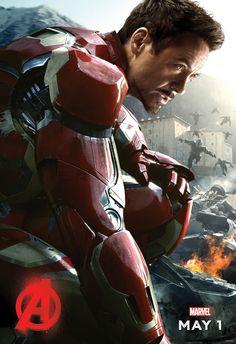 Avengers: Age of Ultron (2015) poster  #robertdowneyjr