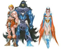'Masters Of The Universe' Designs