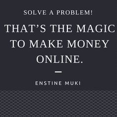 Are YOU solving your customers' problems?