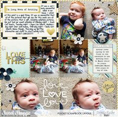 Pocket Life '15: January Collection by Traci Reed #sweetshoppedesigns #digitalscrapbooking #scrapbook #layout #pocketscrapbooking #projectlife