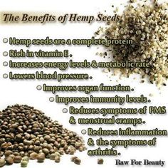 I can't say enough good things about Hemp Seeds. Please take the time to check it out!