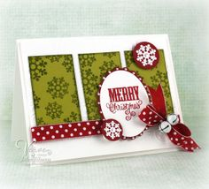 Card by Julee Tilman using Holiday Treats from Verve Stamps.  #vervestamps