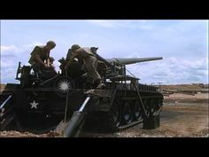 """M107 175mm Gun Self Propelled from """"Weapons of the Field Artillery"""" 1965 US Army - YouTube"""
