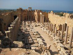 Severan Basilica, Leptis Magna 2nd century A.D.