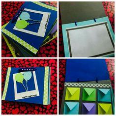 handmade bday scrapbook