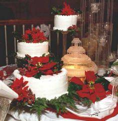 christmas wedding cakes | Christmas Wedding Theme | Web Wedding Sites Blog