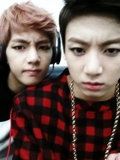 taehyung and jungkook's twitter update
