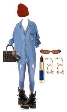 """""""I love the fall"""" by brianna-gar ❤ liked on Polyvore featuring I'm Isola Marras, Lipsy, L'Oréal Paris and J.W. Anderson"""