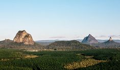 Celeste Mitchell puts her body on the line to test a new breed of adventure travel on the Sunshine Coast: six Glasshouse mountains in one day. Glasshouse Mountains, Hiking Routes, Mountain Hiking, Sunshine Coast, One Day, Tour Guide, Adventure Travel, Monument Valley, Tours