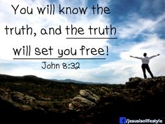 trusting what we know, what hes told us! recieve it fully and the result is FREEDOM!