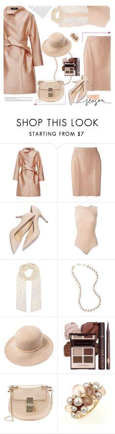 """Nude Lux"" by ansev ❤ liked on Polyvore featuring moda, Paule Ka, MSGM, Maison Margiela, Accessorize, rag & bone, Dolce Vita, Chloé, Mimí e women's clothing"