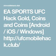 Android I, Ea Sports, Gold Coins, Ufc, Food And Drink, Hacks, Windows, Club, Ramen