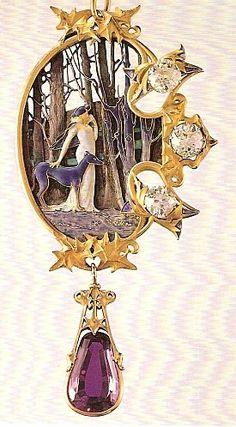 René Lalique pendant de cou