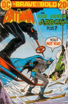 Mit Batman in die 70er reisen: Kommunen, Emanzipation und Ski-Fahren  aus Batman Collection Jim Aparo 1