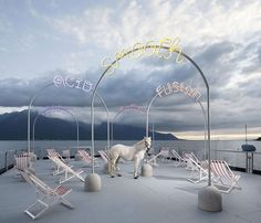 Bureau A: Bada Bing boardwalk for Montreux Jazz Festival 2013, Montreux | Switzerland (image © Dylan Perrenoud)