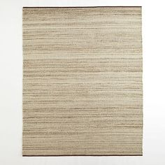 Sweater Wool Rug - Oatmeal | West Elm $499