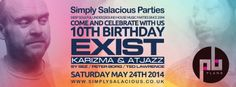 Simply Salacious Parties 10th Birthday