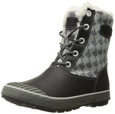 KEEN Elsa Boot WP W chaussures d'hiver houndstooth - Chaussures keen (*Partner-Link) Snow Boots Women, Winter Snow Boots, Best Womens Winter Boots, Old West Boots, Bootie Boots, Shoe Boots, Best Golf Shoes, Trekking Shoes, Steel Toe Work Boots