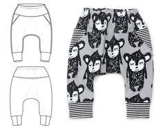 pocket puff pants : 069