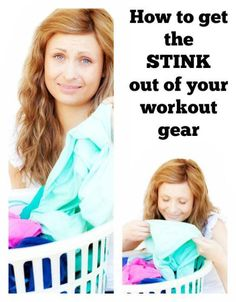 Post has a great trick with dawn dish detergent that I need to try for my workout clothes!