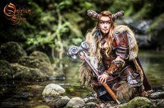 Photoshoot 2015 : Celtic battle faun by Deakath on DeviantArt Faun Costume, Wolf Costume, Warrior Costume, Viking Costume, Cosplay Costumes, Warrior 3, Wolf Warriors, Celtic Warriors, Cosplay Characters